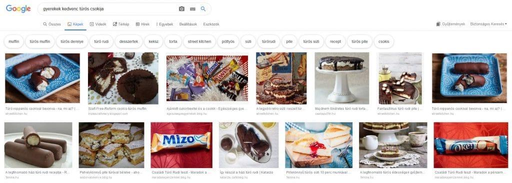 A Google RankBrain tesztelésének eredménye a Google képkereső találatai között